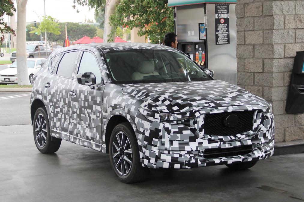Новый Mazda CX-5 появится в следующем году