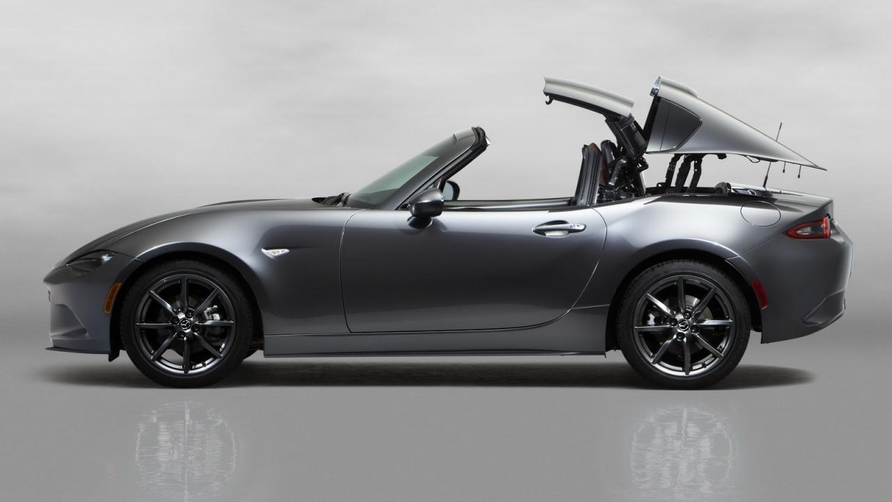 Mazda MX-5 получила жёсткую складную крышу (видео)