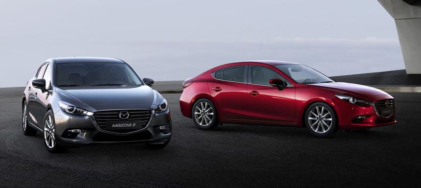 Что нового у семейства Mazda 3?