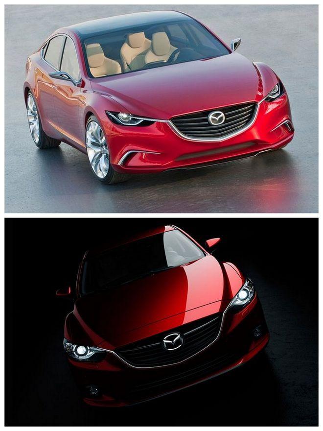 Mazda 6 new – фотографии авто на
