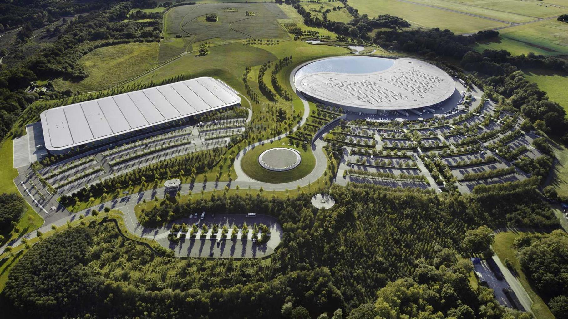 McLaren планирует заложить завод и коллекцию гоночных автомобилей