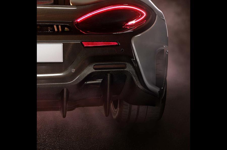 McLaren показал первый тизер суперкара 570LT