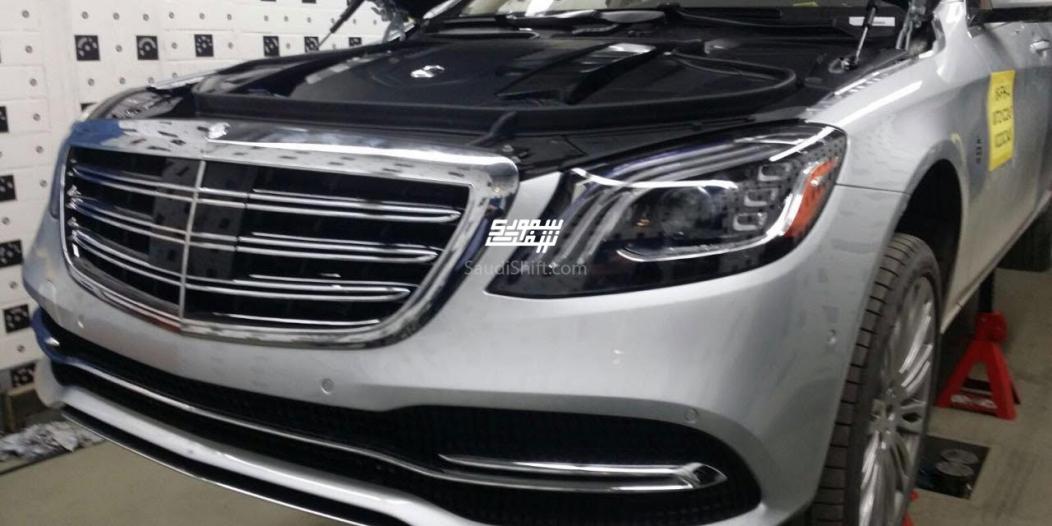 Обновленный Mercedes-Benz S-Class рассекретили до официальной презентации