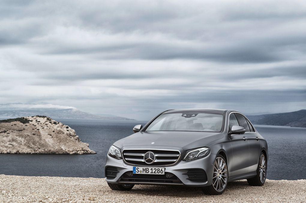 В Детройте представили Mercedes-Benz E-Class нового поколения