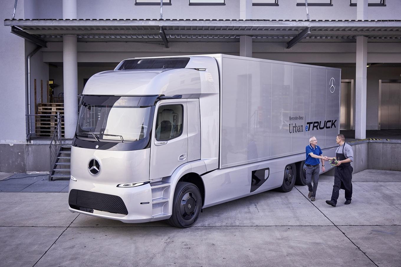Первая партия фургонов Mercedes-Benz Urban eTruck появится в этом 2017г