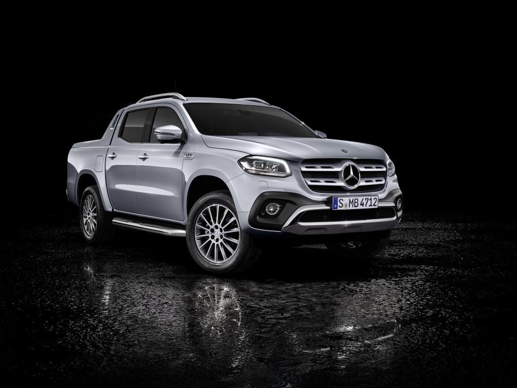 Mercedes-Benz рассекретила новую версию пикапа X-Class c дизельным мотором