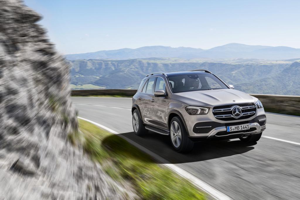 Кроссовер Mercedes-Benz GLE нового поколения рассекретили до премьеры