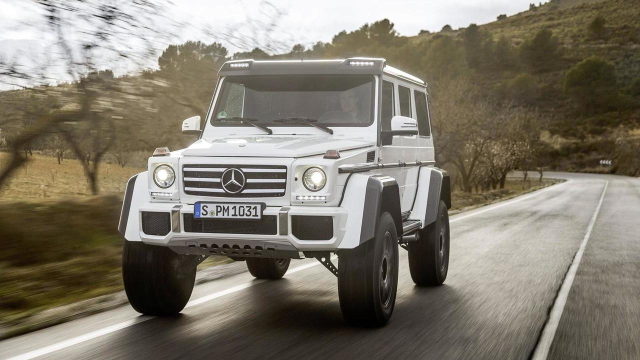 Mercedes-Benz выпустит ограниченную серию G-Class с откидной крышей