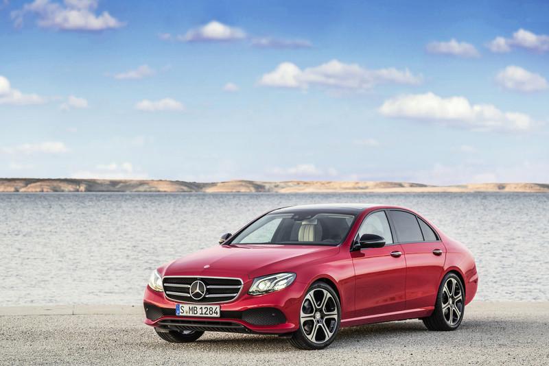 Новый Mercedes-Benz E-Class показали до официальной премьеры