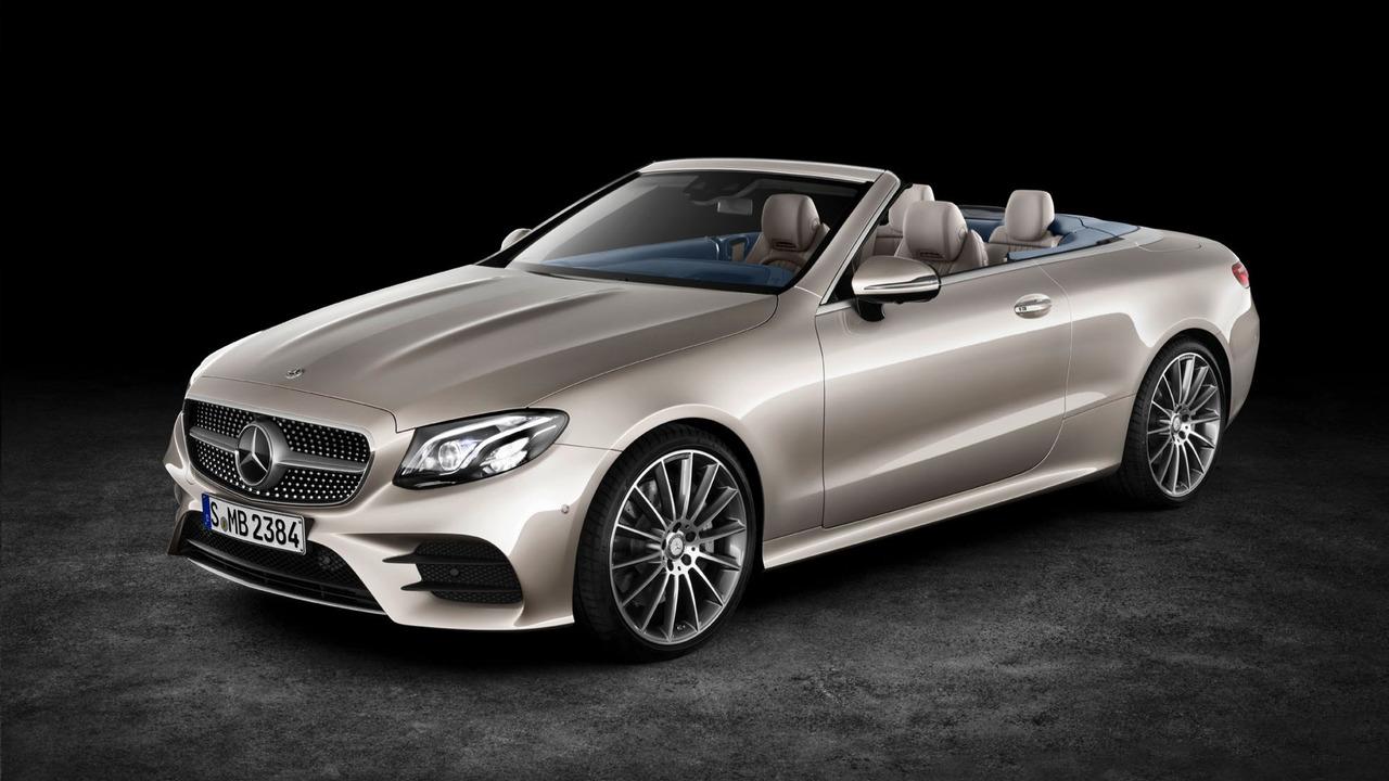 Кабриолет Mercedes-Benz E-Class впервые получил полный привод