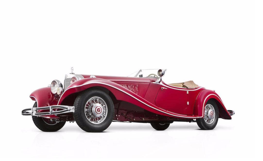 Украденный в 1945 году Mercedes-Benz продают за 5 млн евро