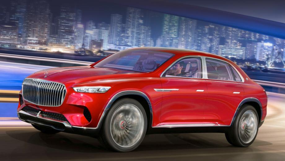 Концепт Mercedes-Maybach Ultimate Luxury оказался не кроссовером