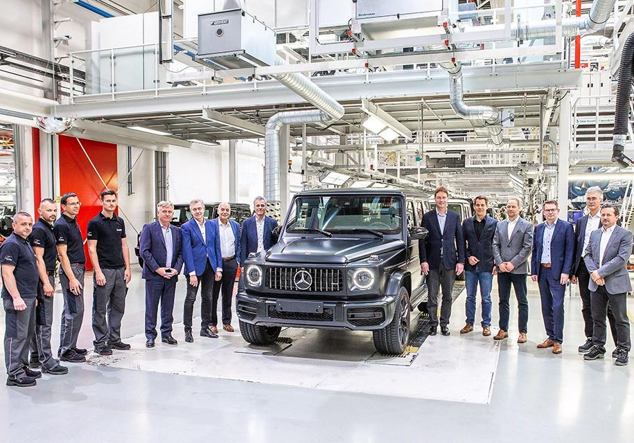 Mercedes-Benz начал производство нового G-Class