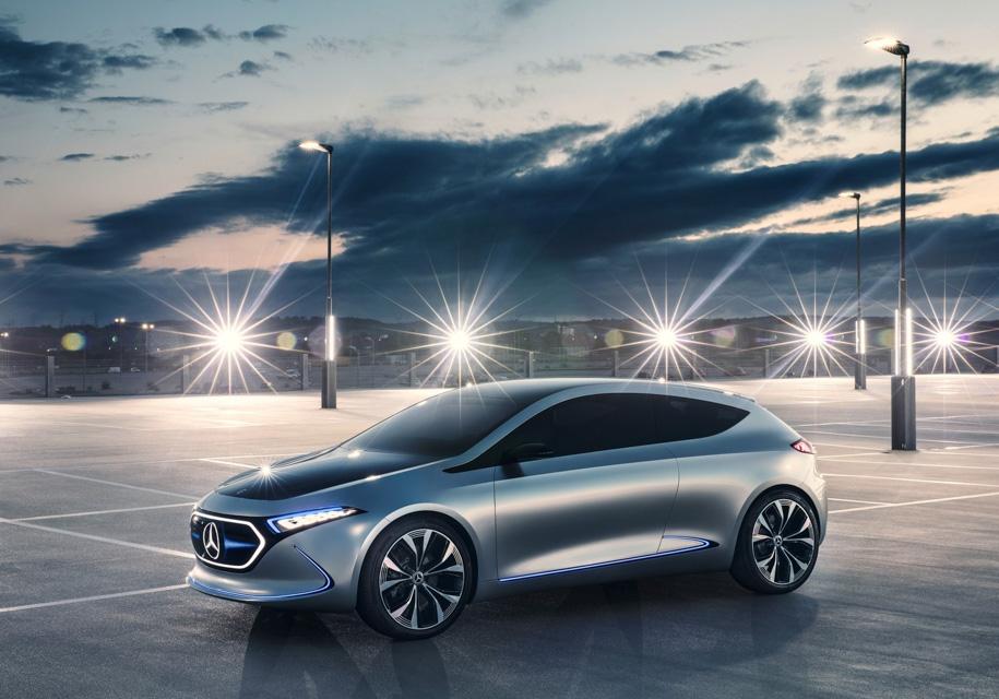 Новый электрокар Mercedes-Benz будут собирать во Франции