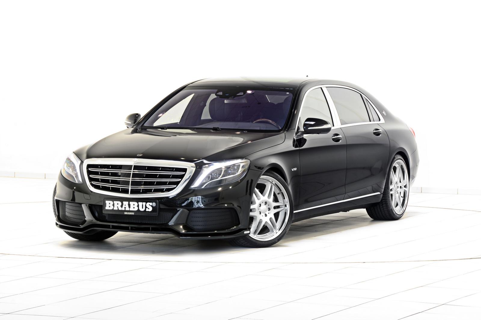 Mercedes-Maybach от Brabus получил название «Ракета» и 900-сильный V12