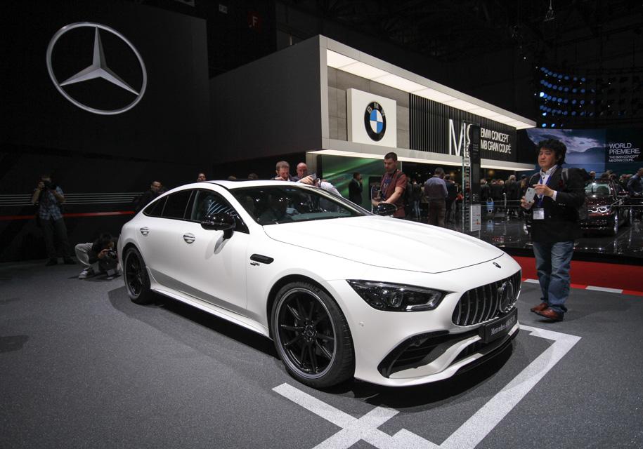 Женева 2018: новый Mercedes-AMG GT 4-Door Coupe бросил вызов Porsche Panamera