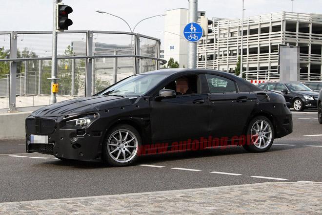 Mercedes CLC : шпионские фото новой модели