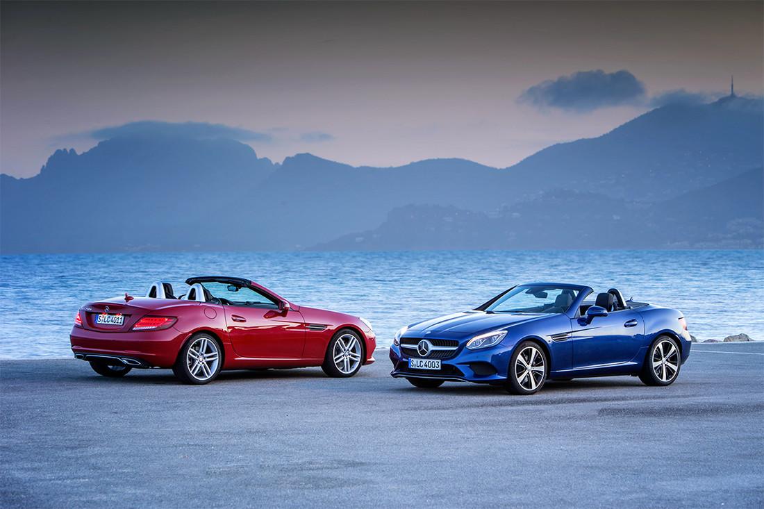 Mercedes откажется отсоздания родстера SLC следующего поколения