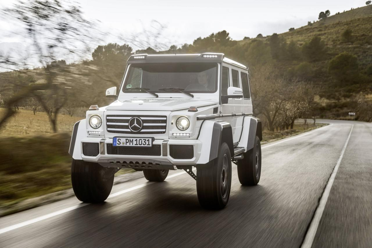 Экстремальный Mercedes G500 4x4² будет стоить как  2 обычных «Гелендвагена»