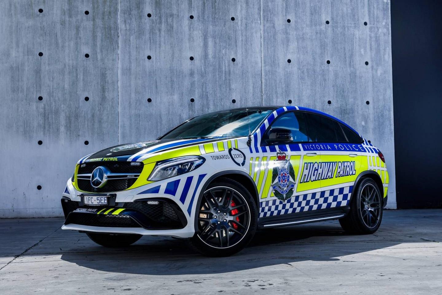 Австралийские копы получили 585-сильный Mercedes-Benz GLE Coupe