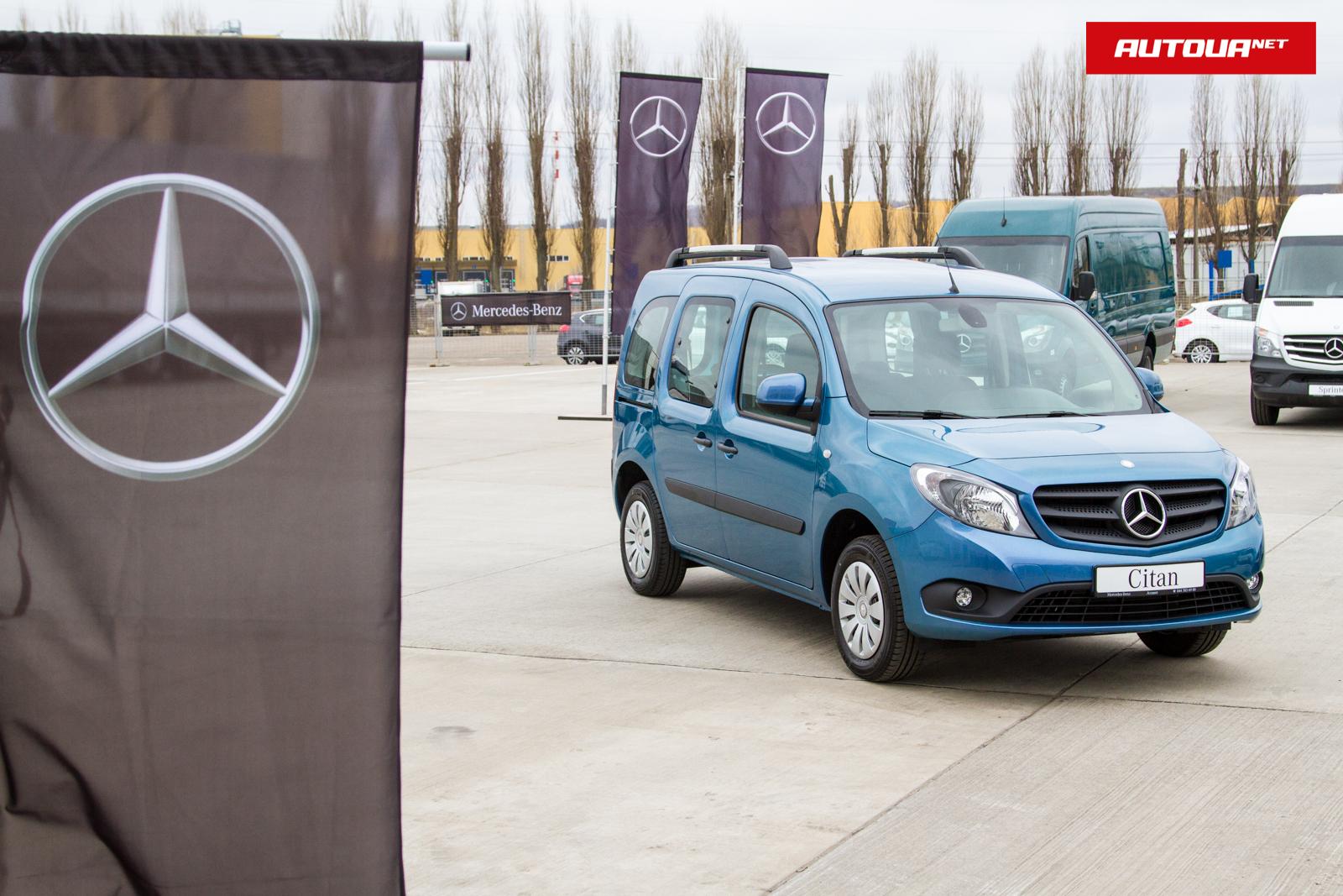 Mercedes-Benz Citan: всегда в движении