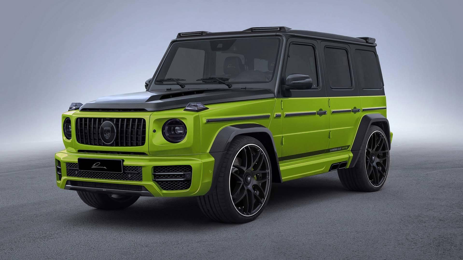 Lumma Design анонсировало спецверсию Mercedes-AMG G63