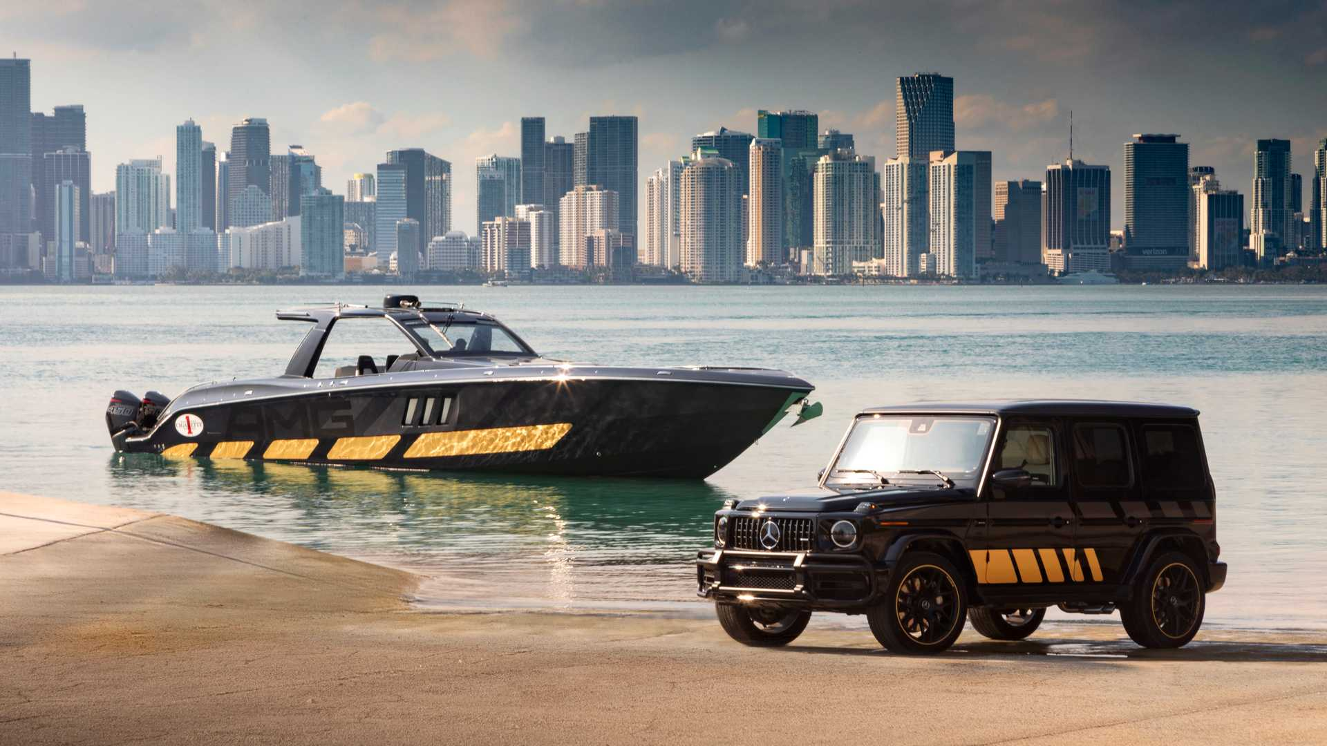 Mercedes-AMG bringt neues Schnellboot auf den Markt