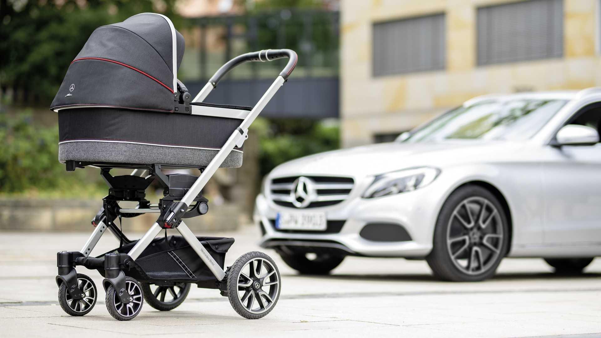 Mercedes-Benz выпустил коляску для младенцев