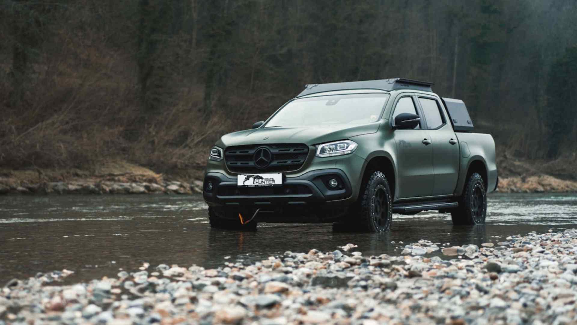 Mercedes-Benz X-Class сделали автомобилем настоящего охотника