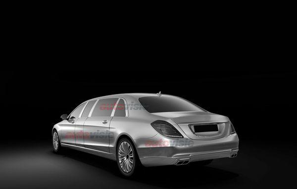 Mercedes-Benz S-Class Pull rear
