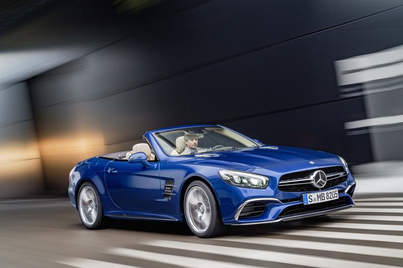 Родстер Mercedes-Benz SL 2016 показали до премьеры
