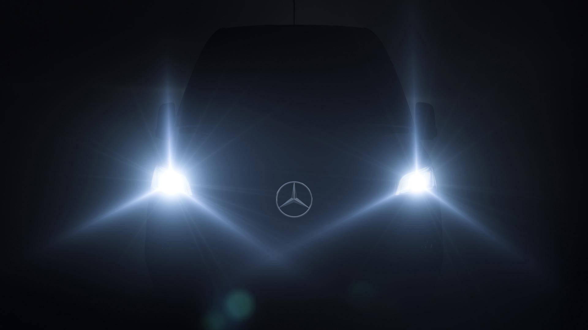 Новый Mercedes-Benz Sprinter покажут 6 февраля