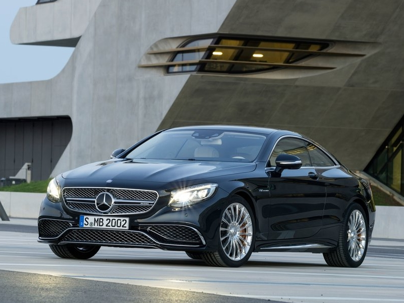 Mercedes-Benz представил самую мощную версию купе S-Class