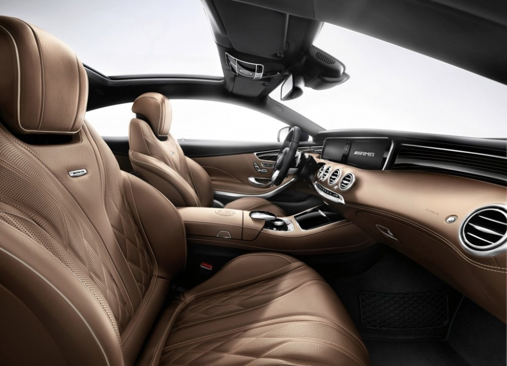 Mercedes-Benz S65 AMG Coupe seats
