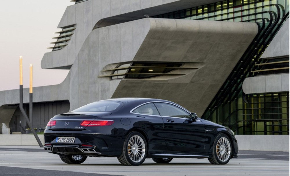 Mercedes-Benz S65 AMG Coupe rear