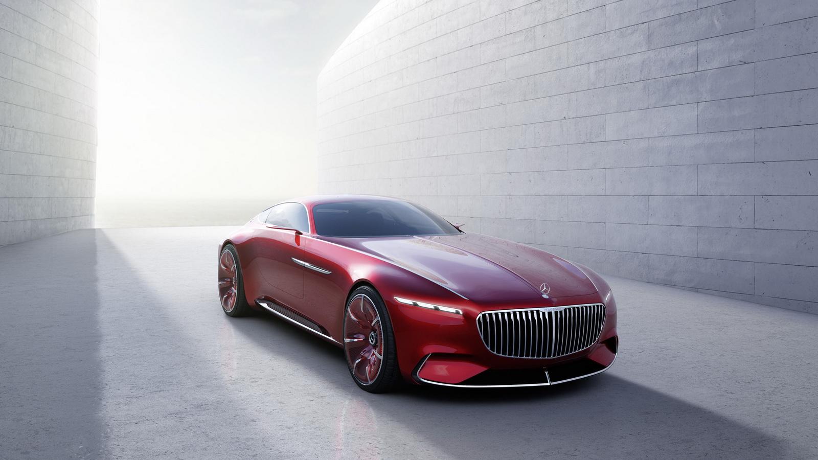 Концепт Vision Mercedes-Maybach 6 получил «крылья чайки»