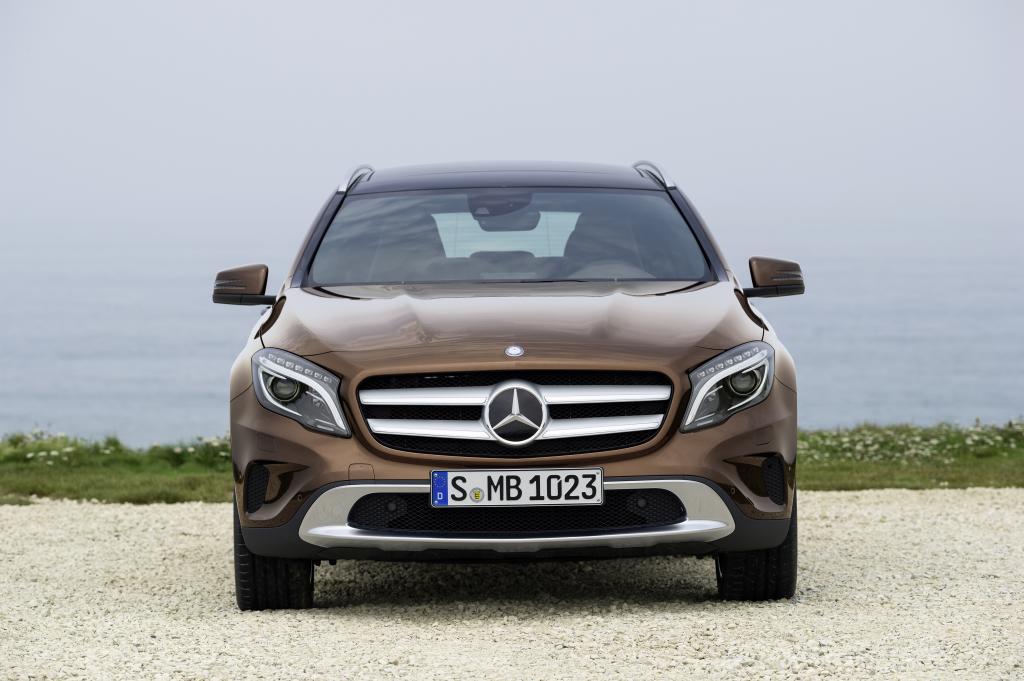 Самый маленький кроссовер Mercedes-Benz представлен официально