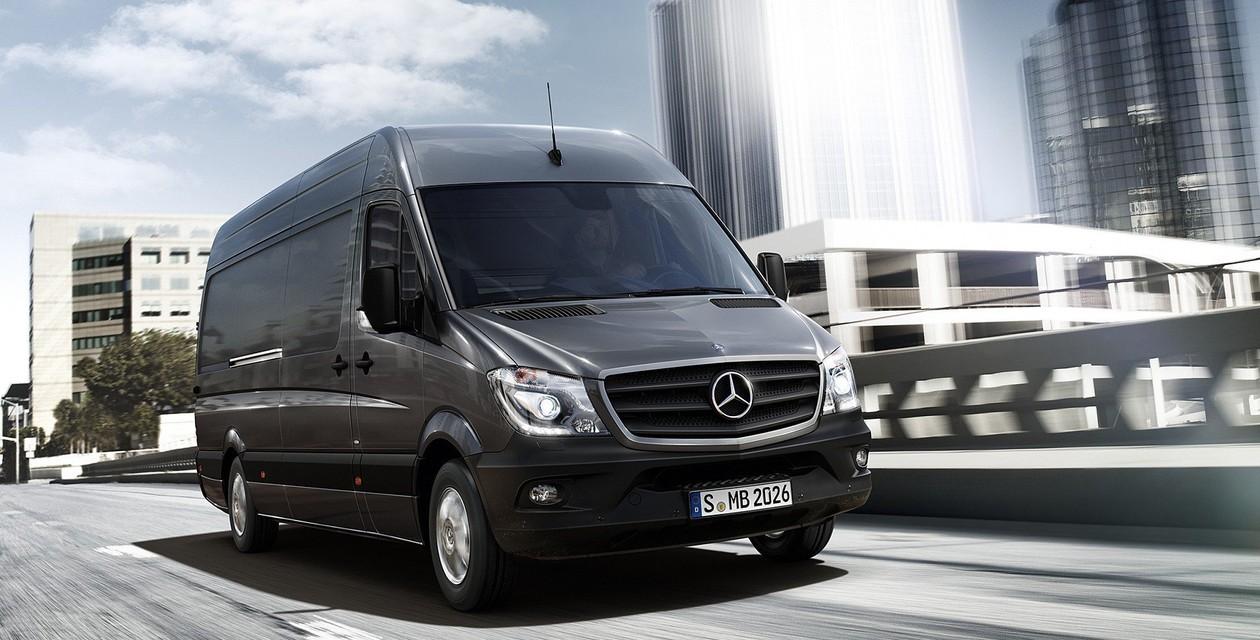 В Mercedes-Benz задумали выпустить электрический Sprinter