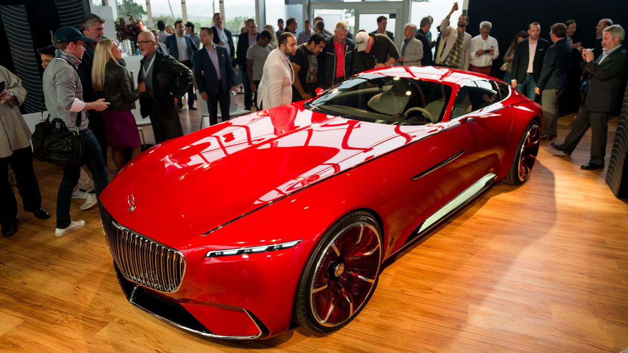Мега-купе Mercedes-Maybach оказалось электромобилем