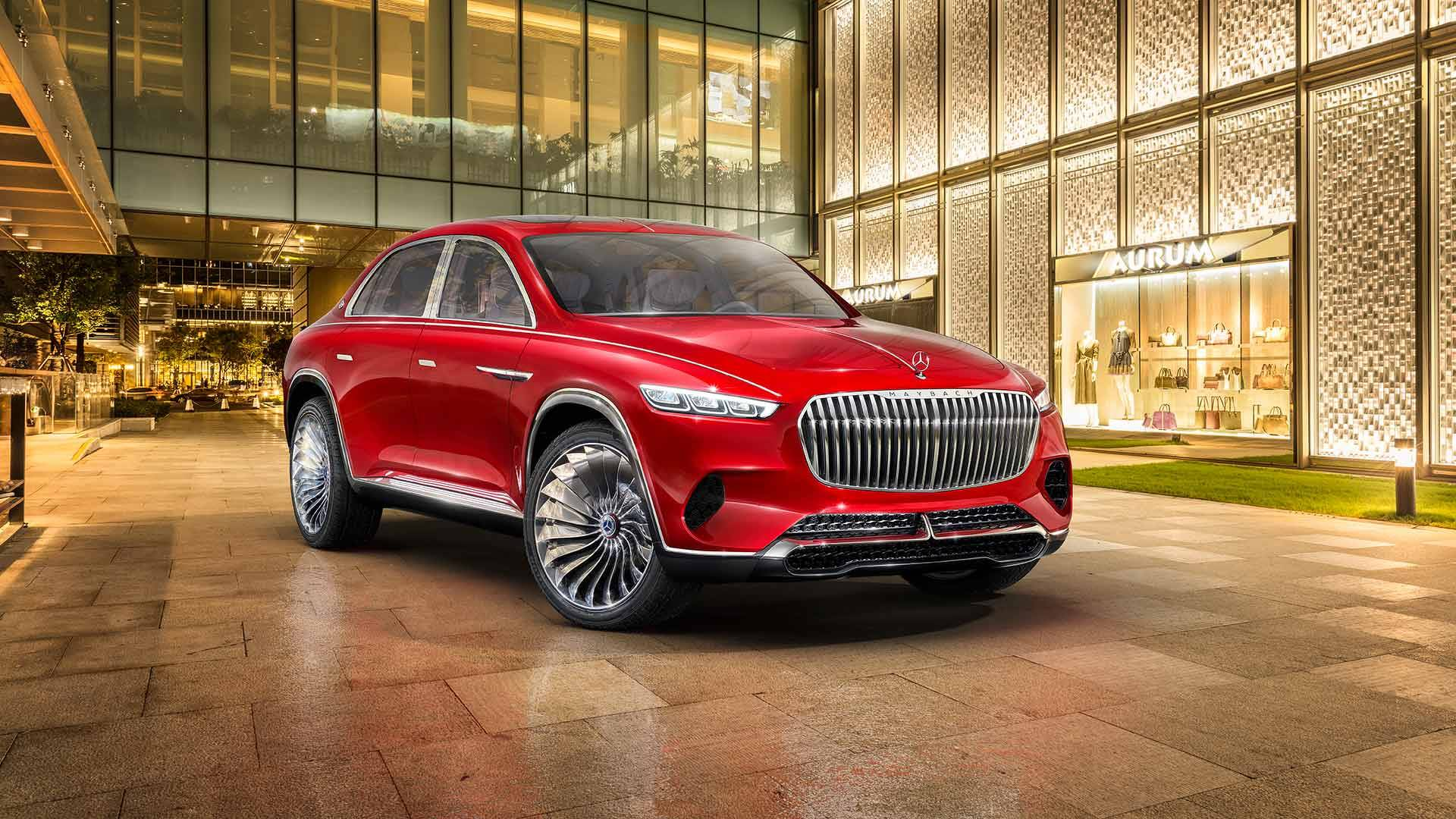 Mercedes-Benz раскрыл все подробности о концепте Vision Mercedes-Maybach Ultimate Luxury