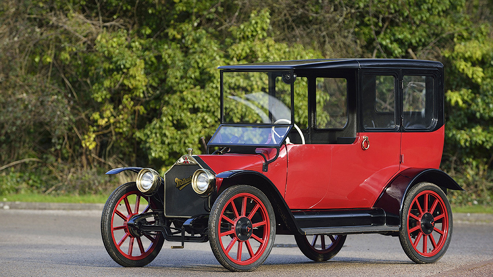 1-ый Мицубиши 1917 года выпуска снабдят гибридным мотором