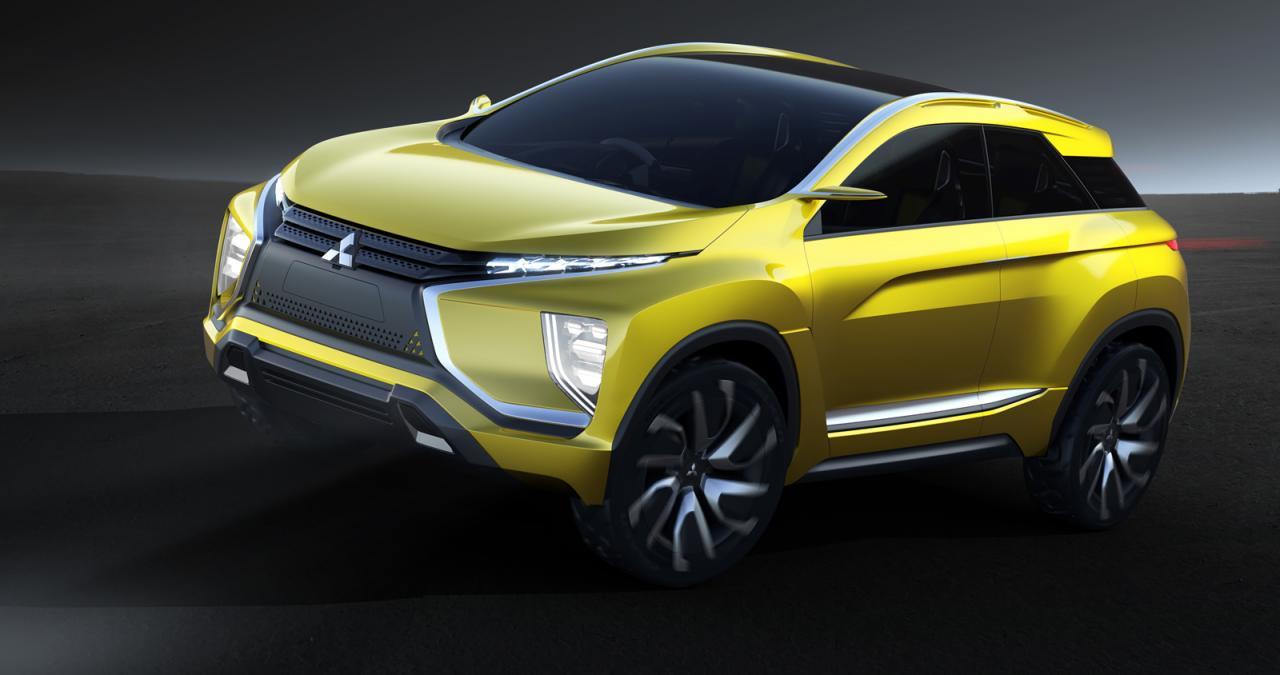 Mitsubishi покажет в Токио маленький электрический кроссовер