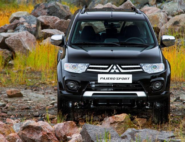 Обновлённый внедорожник Mitsubishi Pajero Sport едет в Украину
