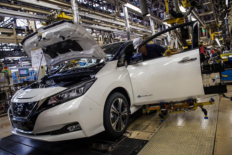 Новый Nissan Leaf будут выпускать в Японии, США и Великобритании