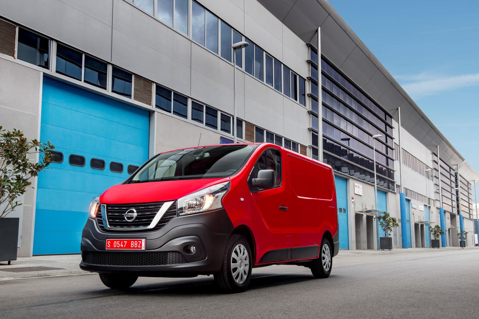 Новый фургон Nissan NV300 представлен официально