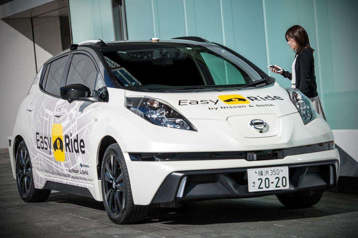 Компании Nissan и DeNA испытают самоуправляемые автомобили на дорогах Японии