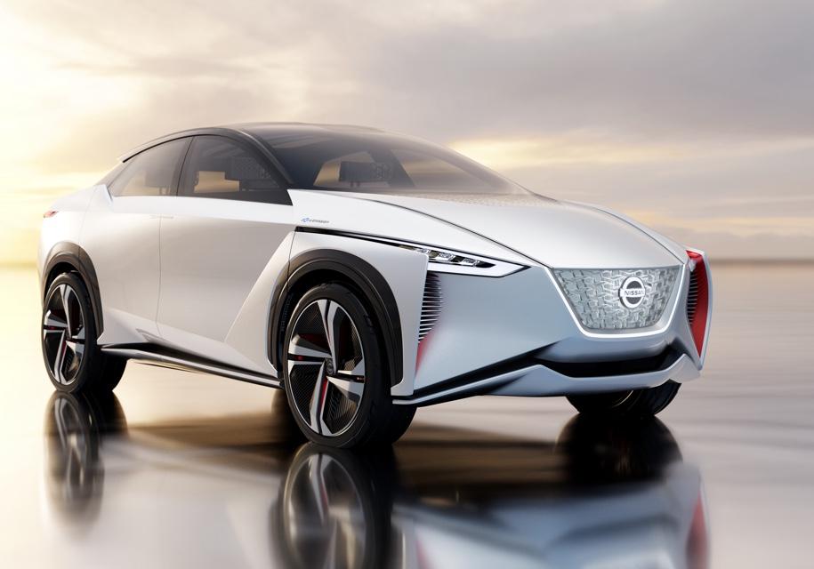 Электрокроссовер Nissan IMx запустят в серию