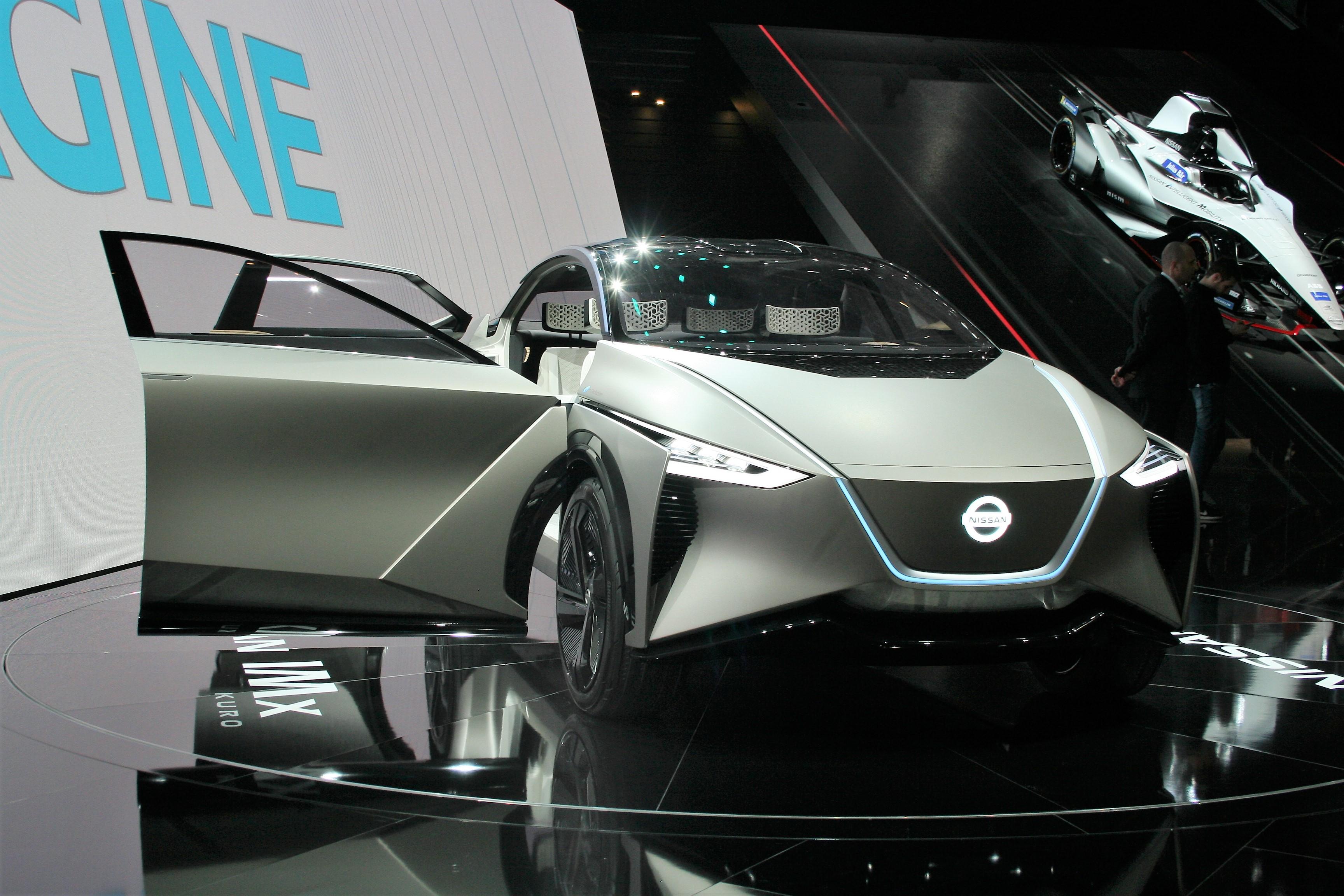 Женева 2018: Nissan показал электрический концепт-кар IMx KURO