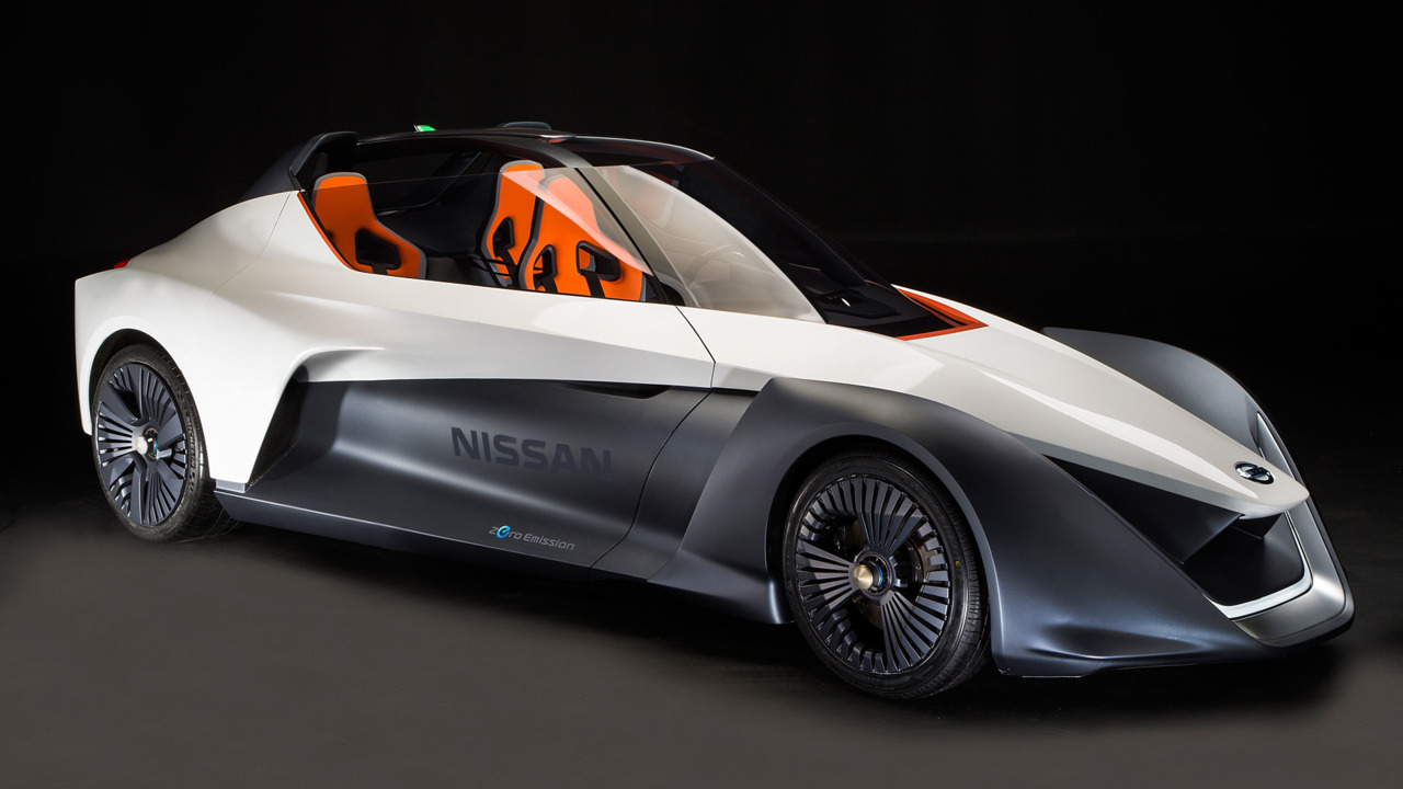 Трёхместный Nissan BladeGlider вернулся в обновлённом варианте