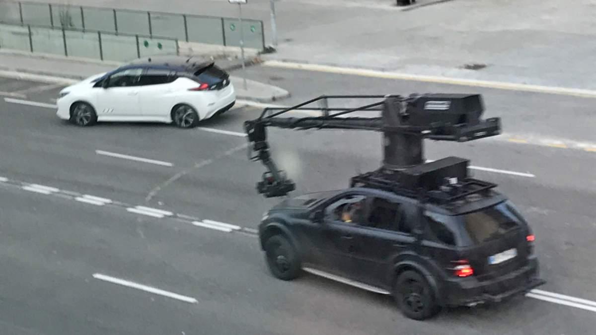 Nissan Leaf 2018 замечен на улицах Испании